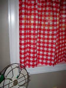 Etsy Kitchen Curtains Vintage Curtains Kitchen White Gingham Checked Plaid New