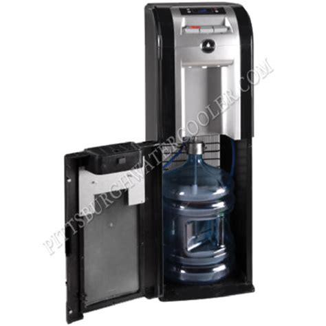 Sharp Water Dispenser With Bottom Loading oasis mir311d 504573c black cabinet room temperature and cold bottom loading bottled