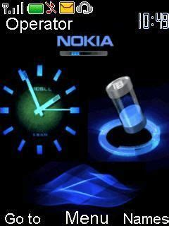 nokia 5130 themes clock battery free download animated nokia clock s40 theme