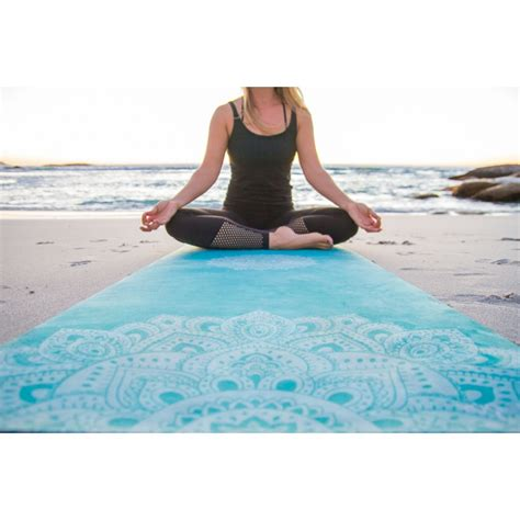 design lab mat yoga design lab combo yoga mat and towel 2 in 1
