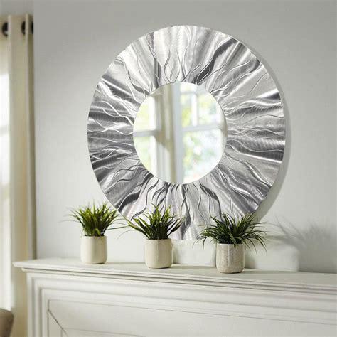 modern metal wall sculpture handmade modern metal wall contemporary mirror