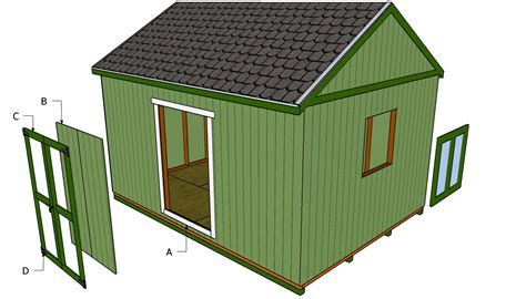 how to build a shed from scratch woodworking plans