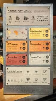print press pot menu restaurant menu designs