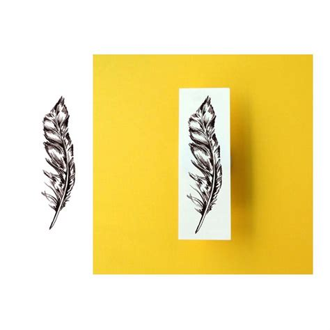 Lolitattoo Temporary Brown Feather potatoo temporary feather brown one ebay