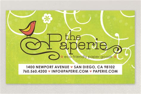 business card templates for crafters paper craft store business card template inkd
