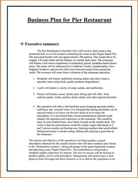 business plan format ngo sle restaurant business planreference letters words