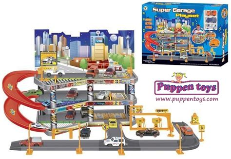 Car Garage Set by Parking Coches Garaje Playset Guang Juguetes