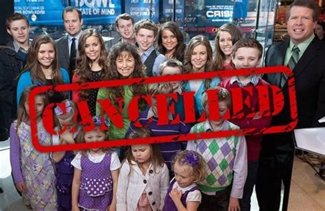 tlc shows cancelled 2015 2016 tlc cancels duggar family s 19 kids and counting movie