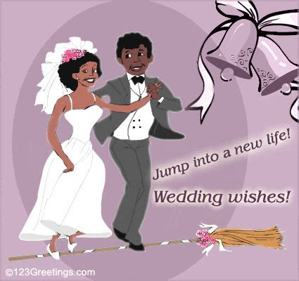 African American Wedding. Free Around the World eCards