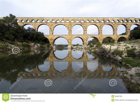 roman bridge  aqueduct royalty  stock image image