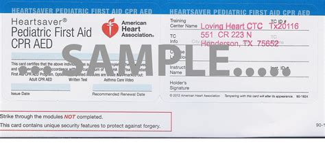aha healthcare provider card template acls bls cpr aid certification mckinney
