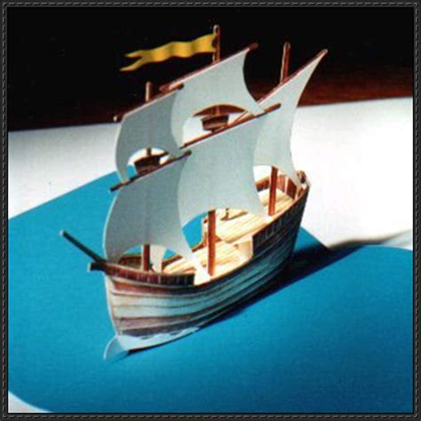 Pop Up Papercraft - papercraftsquare new paper craft galleon pop up