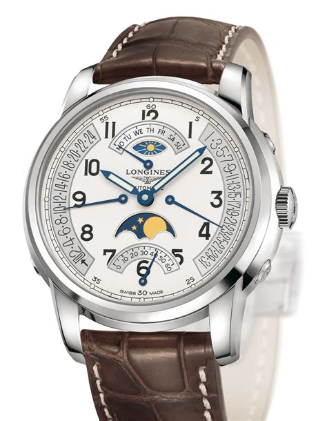 longines imier collection retrograde moon phases
