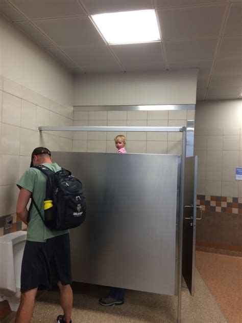 how to sex in a bathroom so i just saw this tall guy with a really weird head in
