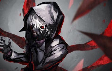 Hd Tokyo Ghoul Iphone Dan Semua Hp 1 обои красный глаз kaneki ken канеки кен tokyo ghoul токийский гуль маска белые волосы
