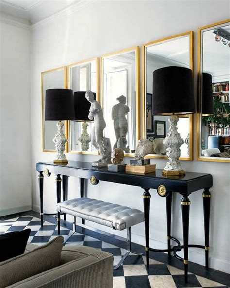 edgy console tables for a modern home decor news