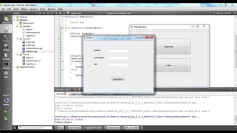 tutorial qt creator pdf tutorial sqlite con qt creator parte 1 youtube