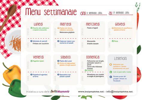 esempio alimentazione equilibrata 187 dieta settimanale equilibrata menu