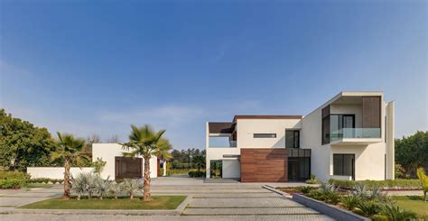 home exterior design delhi f3 farmhouse by dada partners located in new delhi