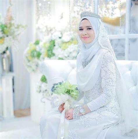 tutorial hijab pengantin baru 30 inspirasi baju pengantin muslim 2017 tutorial hijab