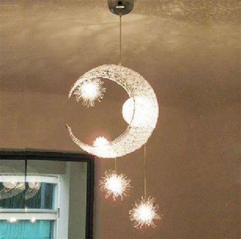 kid chandelier bedroom moon star children kid child bedroom pendant l