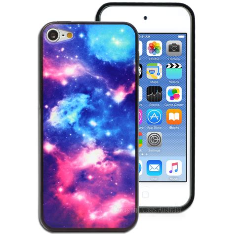 Softcase Ombre galaxy printed back for apple ipod touch