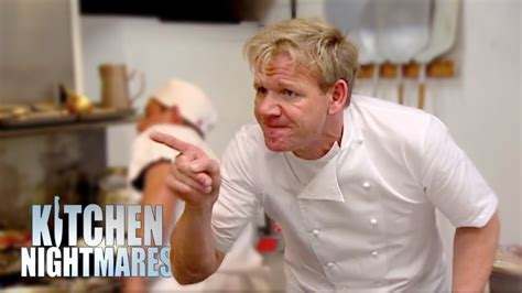 Kitchen Nightmares by Gordon Furious With Mediocre Chef Kitchen Nightmares
