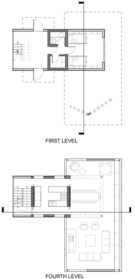 new york floor plans first forth floor plans unique treetop home in upstate