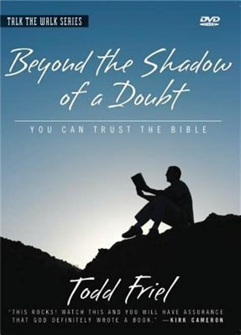 Beyond A Shadow beyond the shadow of a doubt todd friel 9780978607562