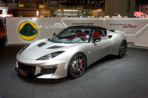 the new lotus lotus unveils the new evora 400 in geneva