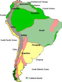 south america rainfall map south america climate map climate of south america