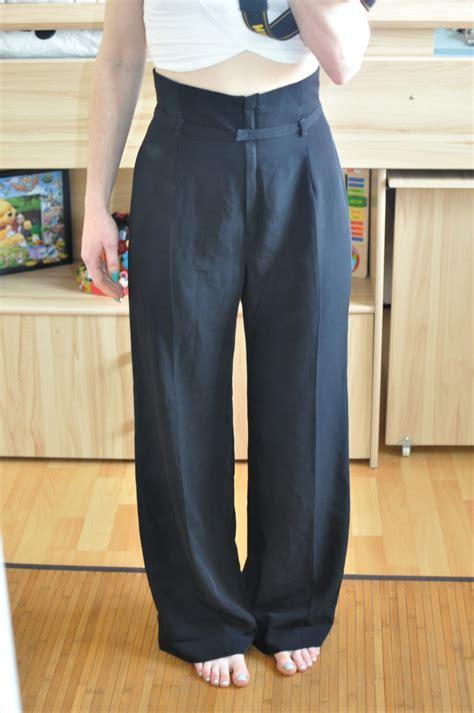 meuble rangement chaussures 1747 pantalon fluide taille ultra haute noir chattawak taille