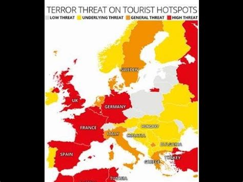 the terrorist threat in africa ã before and after benghazi books mapped tourist hotspots with terror threat levels now at