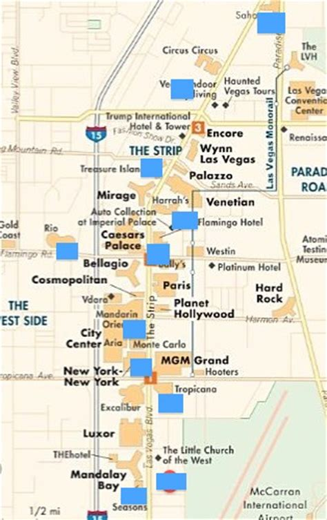 hotel layout on las vegas strip principaux travaux et changements 224 las vegas en 2014