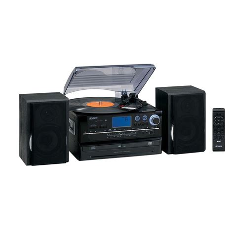 stereo a cassette 3 speed stereo turntable system with cd