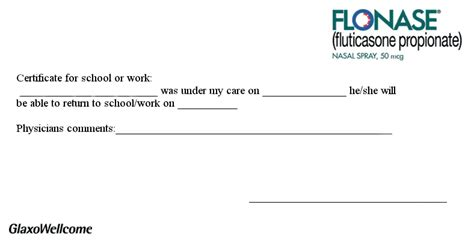 Excuse Letter For Yourself Blank Doctor Excuse Note Search Results Calendar 2015