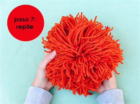 How To Make Large Paper Pom Poms - 7 s 250 per ideas para hacer pompones de para decorar
