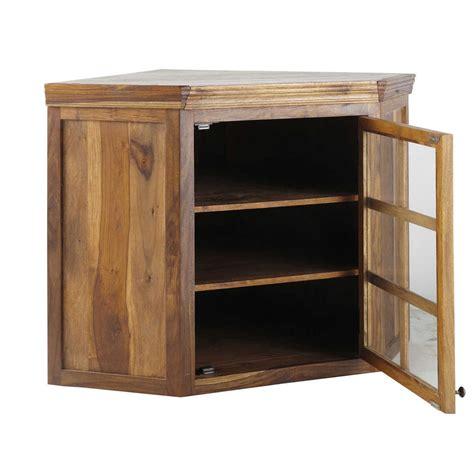 meuble d angle haut cuisine meuble haut d angle vitr 233 de cuisine ouverture droite en