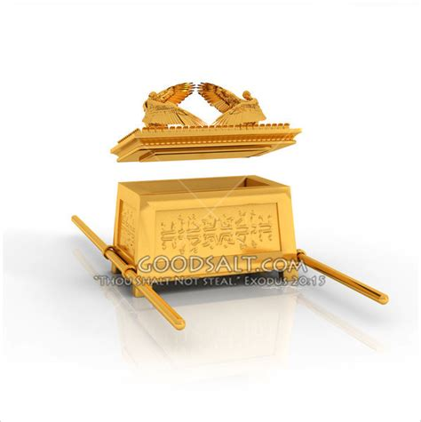 Miniatur Tabut Perjanjian The Ark Of The Covenant ark of the covenant with mercy seat lifted