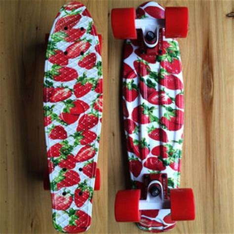 Penny Board Decoration Strawberry Penny Board From Bydonye Com Skateboard