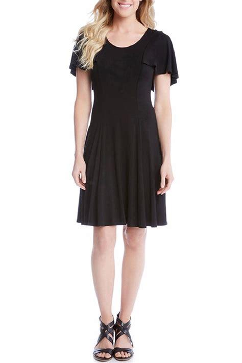 flutter style dress karen kane flutter sleeve dress from texas by rock2royal