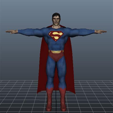 Set Superman 3d Sayap 12m superman 3d model