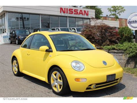 double yellow  volkswagen  beetle special edition double yellow color concept coupe