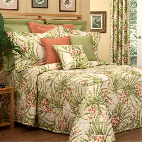 tropical quilts and coverlets katia quilted tropical bedspread bedding