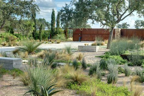 low maintenance modern landscaping landscape southwestern with succulents sculptural plants
