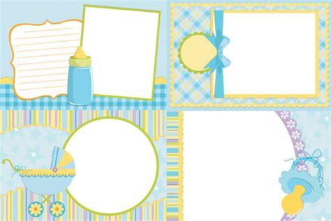 design frame baby baby photo vector vector frames borders free download