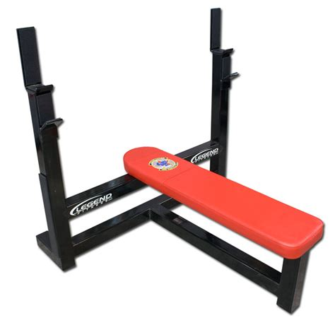 flat weights bench legend flat olympic weight bench 3105