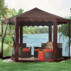Small Pop Up Gazebo With Sides by 26 Portable Gazebos That Will Keep The Bugs Out