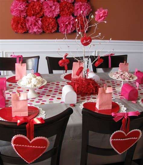 valentines table decorations sheek shindigs a valentine s heart day celebration
