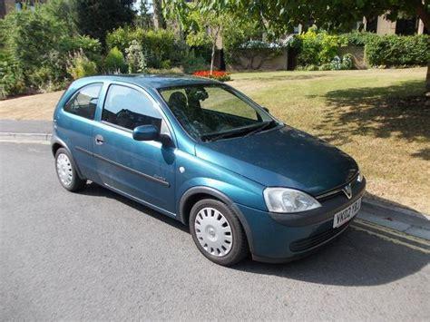 vauxhall corsa 2002 used vauxhall corsa 2002 blue colour petrol 1 2i 16v